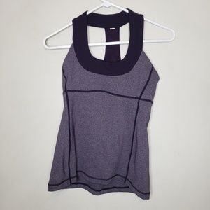 Lululemon Purple Racerback Tank Top